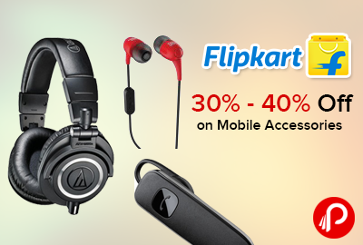 Flipkart discount coupons for mobile accessories