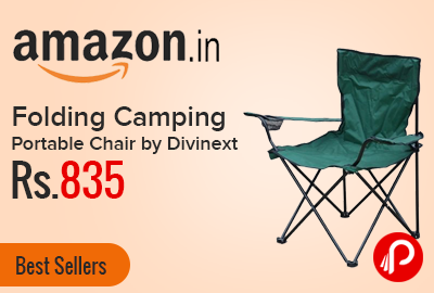 Folding Camping Portable Chair by Divinext Just Rs.835 - Amazon