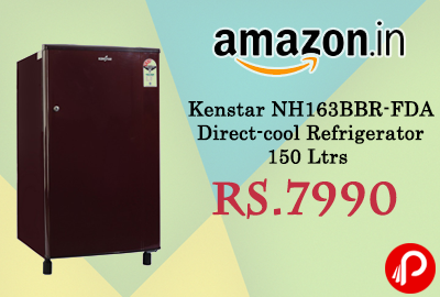 Kenstar NH163BBR-FDA Direct-cool Refrigerator 150 Ltrs just Rs.7990 - Amazon