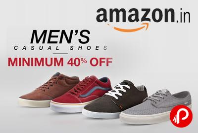ac076af6ba30 Men s Casual Shoes Minimum 40% off - Amazon