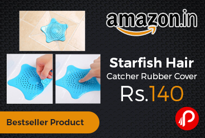 Starfish Hair Catcher Rubber Cover