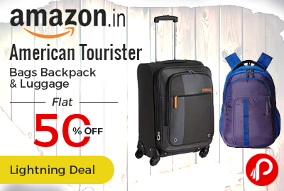 3205778b873e American Tourister Bags Backpack   Luggage Flat 50% Off - Amazon