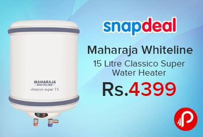 Maharaja Whiteline 15 Litre Classico Super Water Heater