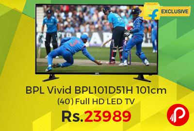 BPL Vivid BPL101D51H 101cm (40) Full HD LED TV