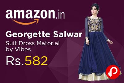 Georgette Salwar Suit Dress Material