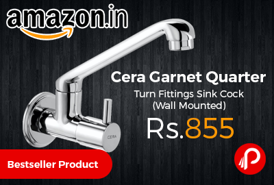 Cera Garnet Quarter Turn Fittings Sink Cock