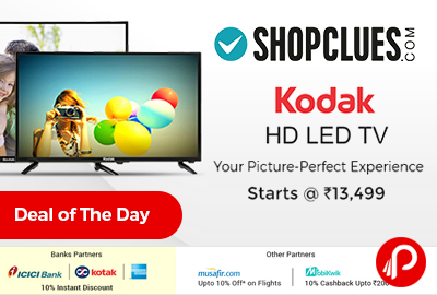 Kodak HD LED TV Starts Rs.13499