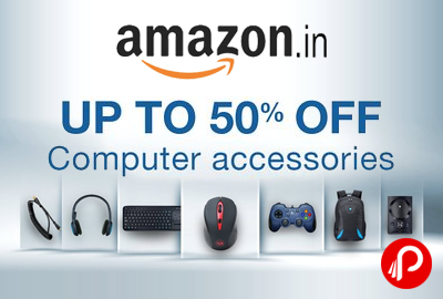 Computer Accessories Products Upto 50% off – Amazon
