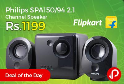 Philips SPA150/94 2.1 Channel Speaker Just Rs.1199 - Flipkart