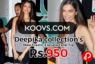 Deepika collection's Nike Elastic Elevate Tank