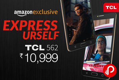 TCL 562 Mobile 3 GB RAM just Rs.10999 - Amazon