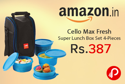 Cello Max Fresh Super Lunch Box