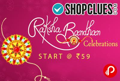 Raksha Bandhan Celebrations Starts @ Rs.59