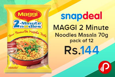 MAGGI 2 Minute Noodles Masala 70g pack