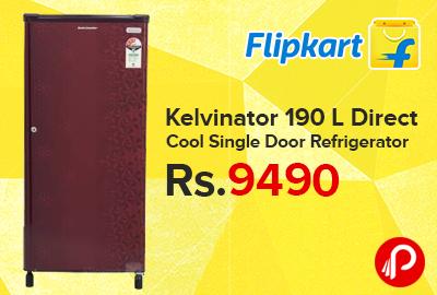 Kelvinator 190 L Direct Cool Single Door Refrigerato