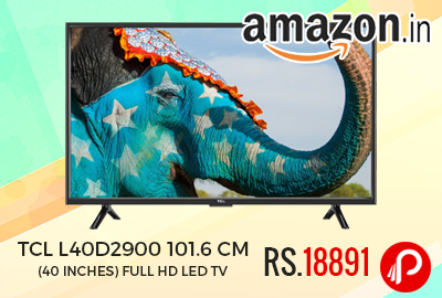 TCL L40D2900 101.6 cm (40 inches) Full HD LED TV Just Rs.18891 - Amazon
