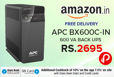 APC BX600C-IN 600 VA Back UPS