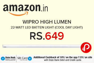 Wipro High Lumen 22-Watt LED Batten Light