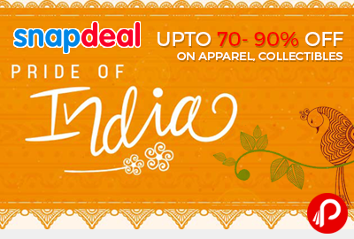 Snapdeal Pride of India