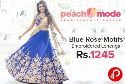 efee9a6c4 Embroidered Lehenga Choli - Best Online Shopping deals, Daily Fresh ...
