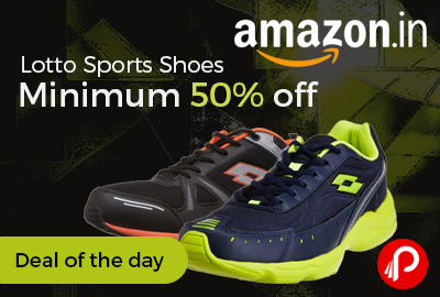 Lotto Sports Shoes Minimum 50% off - Amazon