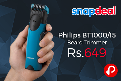 Philips BT1000/15 Beard Trimmer 35% off Just Rs.649 - Snapdeal