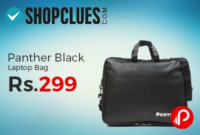 Panther Black Laptop Bag Just Rs.299 - Shopclues