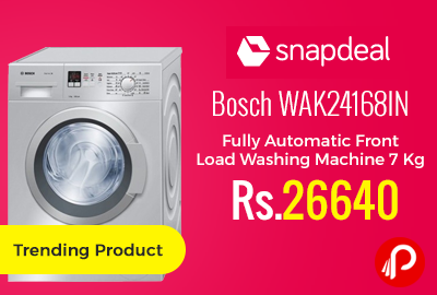Bosch WAK24168IN Fully Automatic Front Load Washing Machine 7 Kg