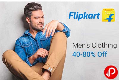 Men's Clothing 40% - 80% off