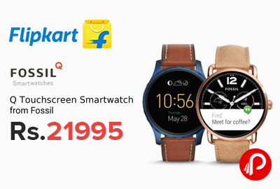 Fossil Q Touchscreen Smart Watches