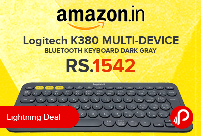 Logitech K380 MULTI-DEVICE BLUETOOTH KEYBOARD Dark gray
