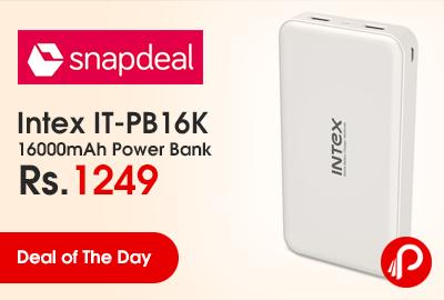 Intex IT-PB16K 16000mAh Power Bank