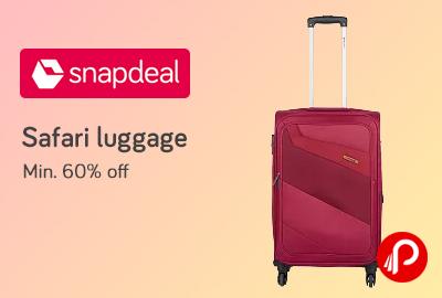 Safari Travel Luggage & Suitcases
