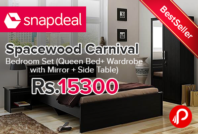 Spacewood Carnival Bedroom Set