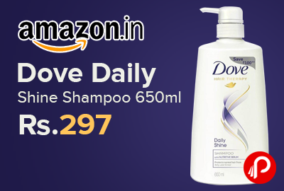 Dove Daily Shine Shampoo 650ml