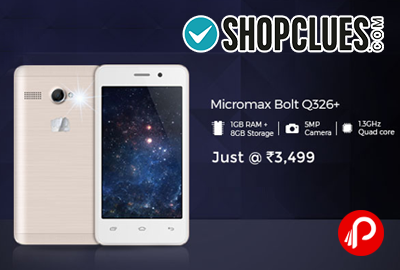 Micromax Bolt Q326+ Mobile