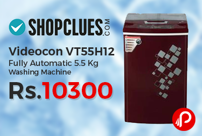 Videocon VT55H12 Fully Automatic 5.5 Kg Washing Machine