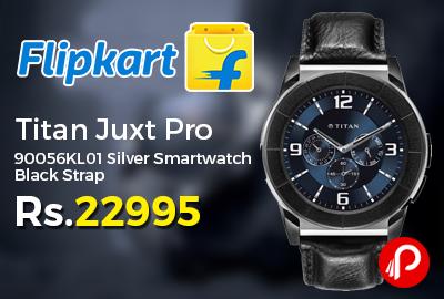 Titan Juxt Pro 90056KL01 Silver Smartwatch
