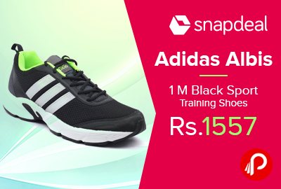 Adidas Albis 1 M Black Sport Training Shoes