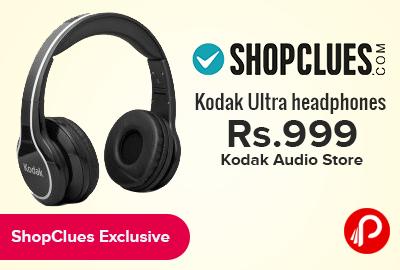 Kodak Ultra headphones just at Rs.999 | Kodak Audio Store - Shopclues