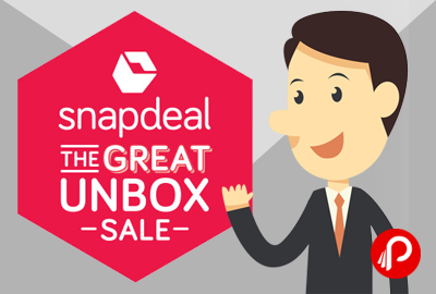 Snapdeal The Great Unbox Sale