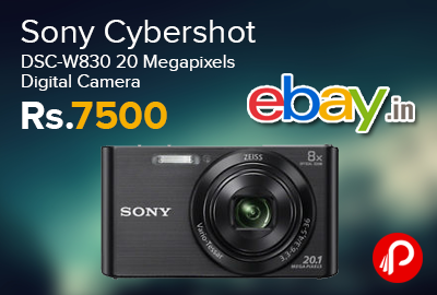 Sony Cybershot DSC-W830 20 Megapixels Digital Camera