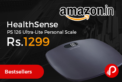 HealthSense PS 126 Ultra-Lite Personal Scal