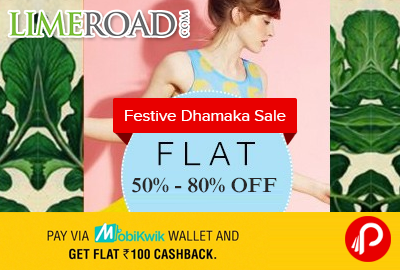 Flat 50% - 80% off on Bestsellers