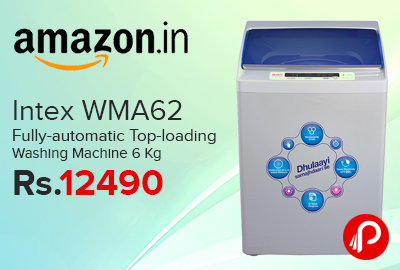 Intex WMA62 Fully-automatic Top-loading Washing Machine 6 Kg