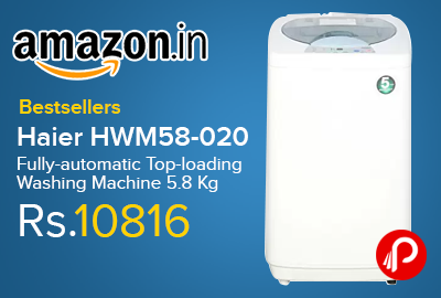 Haier HWM58-020 Fully-automatic Top-loading Washing Machine 5.8 Kg