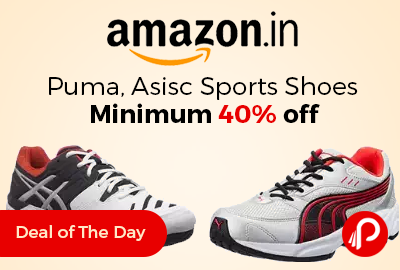 Puma, Asisc Sports Shoes