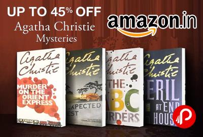 Agatha Christie Mysteries Books