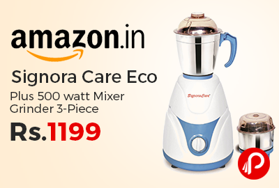 Signora Care Eco Plus 500 watt Mixer Grinder