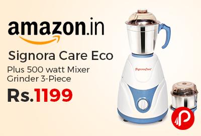 Signora Care Eco Plus 500 watt Mixer Grinder